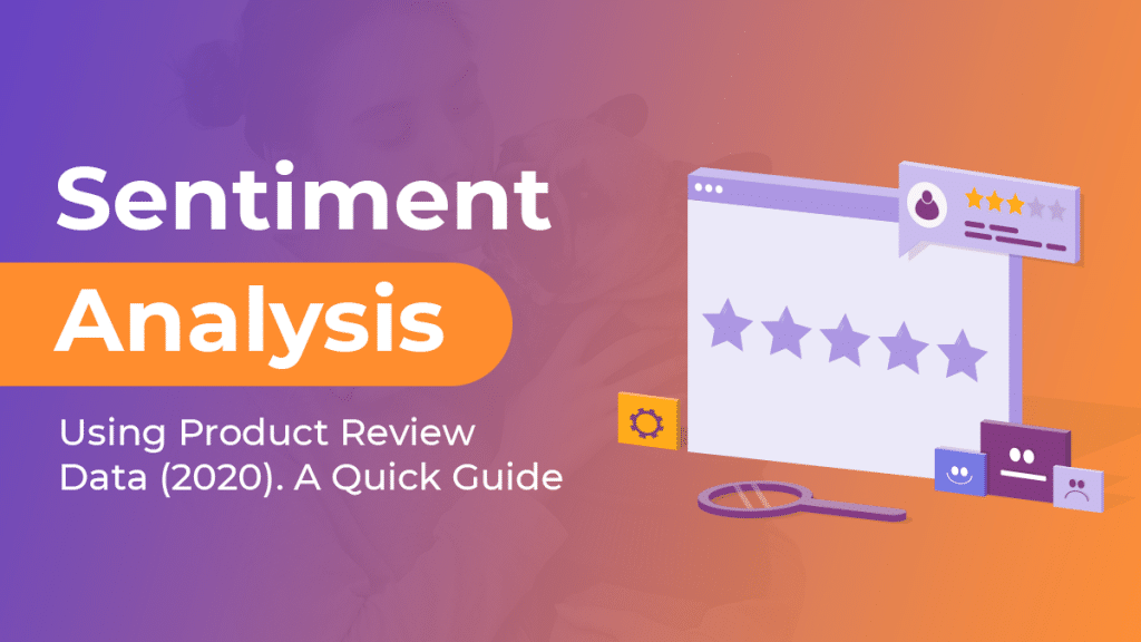 sentiment analysis using product review data