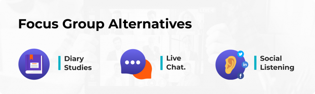 Focus Group Alternatives